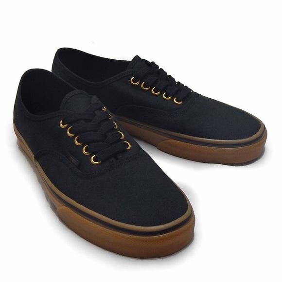 Blackgum Sole Vans Authentic Sneakers